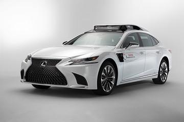 基于雷克萨斯LS打造 丰田发布全新自动驾驶原型车