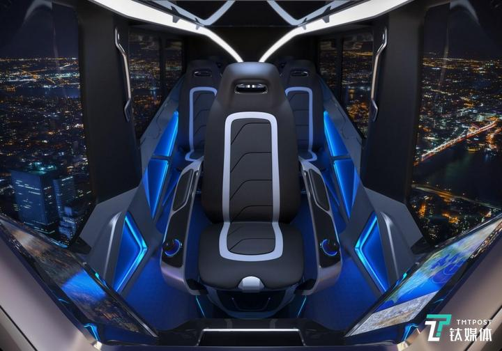 贝尔展示空中出租车Nexus,它可能是本届展会最酷产品
