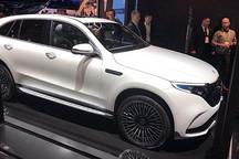 2019 CES展:奔驰EQC 400 4Matic量产版亮相