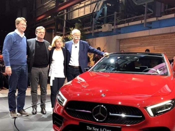 奔驰:2023年前将售10款电动车 多数车型会引入中国市场