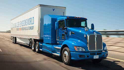 肯沃斯卡车与丰田联手 欲研发氢燃料电池重卡