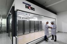 现代摩比斯用5个氢燃料电动车电池模块 构建无污染发电系统