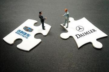 戴姆勒与吉利汽车正在商议合作电动智能汽车