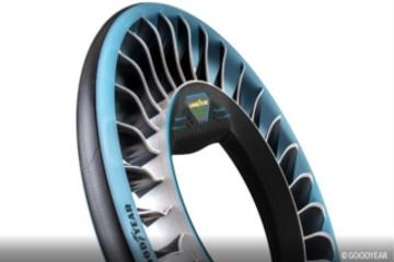 固特异轮胎发布AERO概念轮胎 定位自动驾驶车辆与飞行汽车