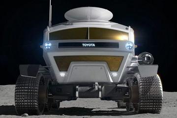 特斯拉上太空算啥,丰田的月球车准备10年后登月