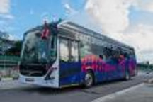 全尺寸自动驾驶电动公交车将落地新加坡
