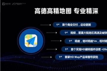 """自动驾驶商业化 高德发布""""高精宣言"""""""