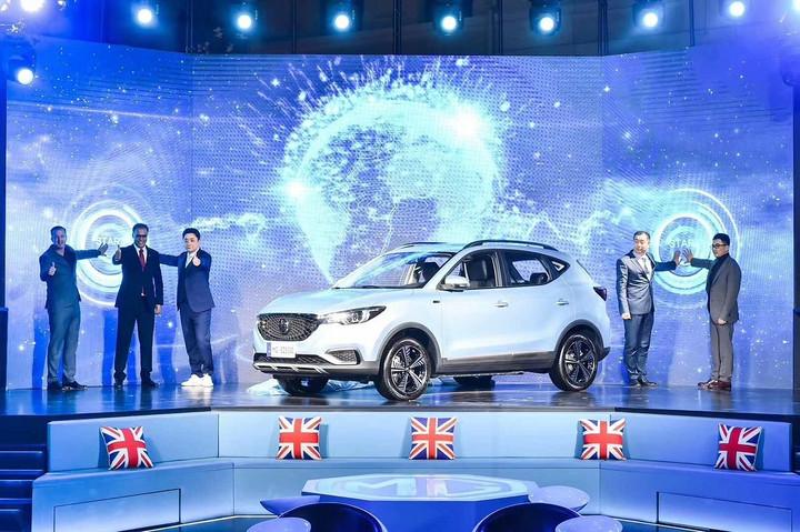 名爵发布EZS纯电动SUV 瞄准全球市场