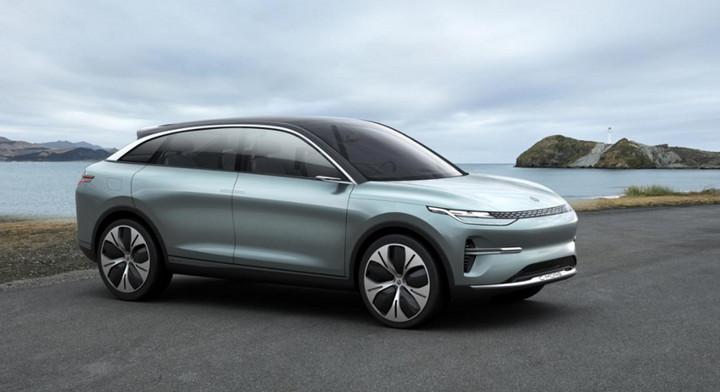 零跑C-more智能跨界纯电动SUV即将登陆上海车展