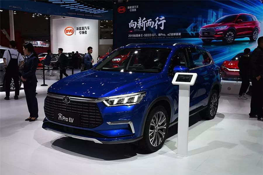 上海车展具有爆款潜质的10款新能源车,宋Pro、几何A领衔!