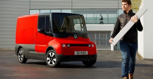 雷诺发布包裹送递概念纯电动面包车EZ-Flex