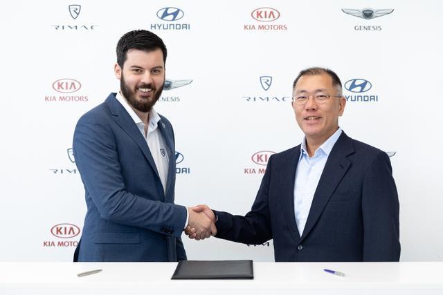 现代·起亚汽车与Rimac公司联合 挑战全球高性能电动汽车