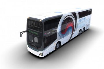 现代推出纯电动双层巴士 可搭乘70人
