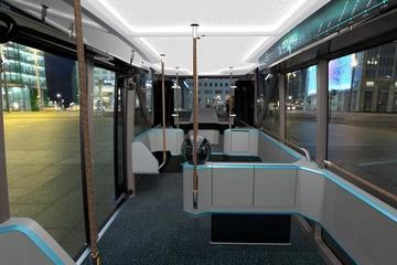 斯堪尼亚展示NXT模块化电动巴士概念车