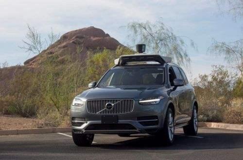 沃尔沃汽车和Uber联合发布准自动驾驶汽车