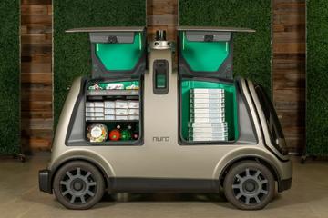 达美乐与Nuro合作在休斯敦使用无人驾驶车辆交付披萨外卖