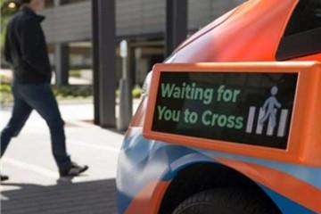 苹果旗下公司推自动驾驶车外部通信面板