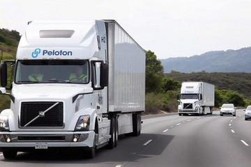 Peloton自动仿效功效让一名驾驶者同时控制两辆卡车