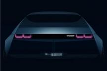 现代全新纯电动车信息曝光 溜背造型/14天后亮相