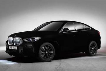 宝马X6采用新涂层材质  可吸收99%可见光