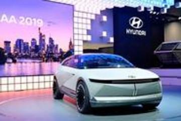 全新电动平台打造,现代汽车法兰克福首秀EV概念车45