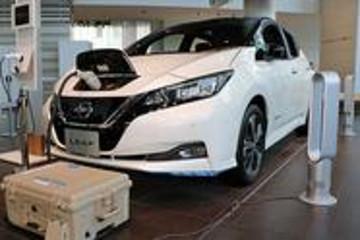 日产电动汽车助力社区实现灾后快速恢复供电