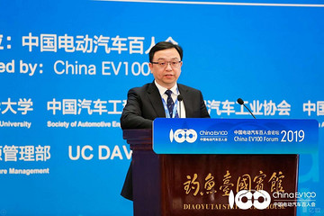 """比亚迪王传福:我国电动汽车发展已转为""""政策+市场""""双轮驱动"""