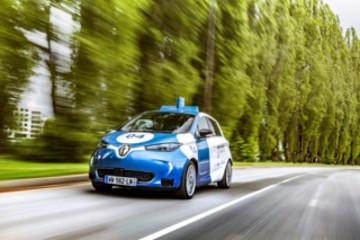 雷诺改装ZOE Cab原型车 公开测试自动驾驶按需出行服务