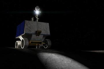 美国计划2022年底派月球车到月球南极找水