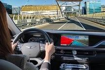现代推新型信息娱乐系统 结合AR导航/车载支付/手写识别触控板