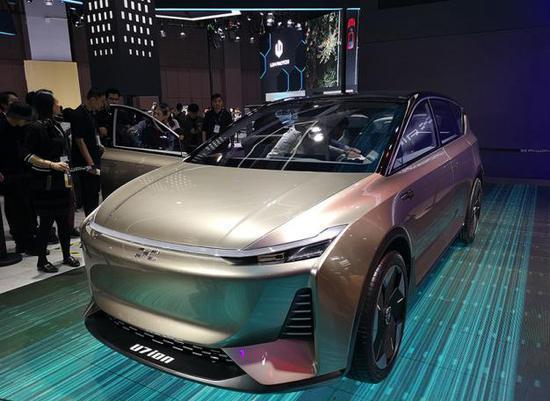 面向家庭智能出行 愛馳U7 ION概念車亮相
