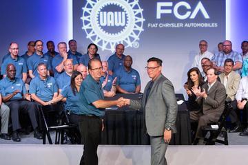 菲亚特克莱斯勒与美国工人联合会达成临时劳工协议