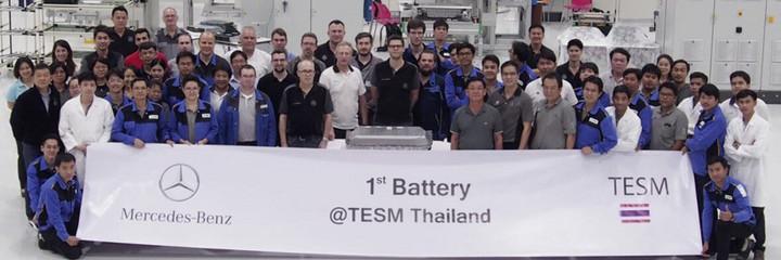 电池,奔驰泰国电池工厂