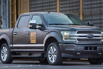 福特专利透露F-150车型把电池组与车架整合 可降低重量/增长续航等