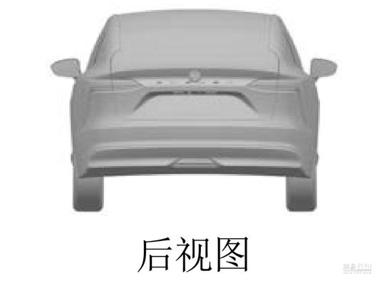 轿跑造型 江铃新能源全新轿车专利图曝光