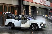 两月内5辆电动车着火 中国加强新能源汽车安全排查