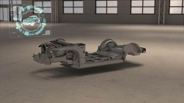 电动汽车,黑科技,前瞻技术,EDAG集团,可伸缩电动汽车地板组件,电动汽车地板组件,EDAG电动汽车,汽车新技术