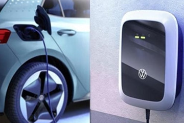 专车专用 大众发布3款壁挂式充电器