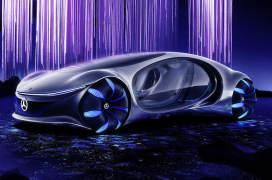 奔驰发布新款电动概念车 设计灵感来自《阿凡达》