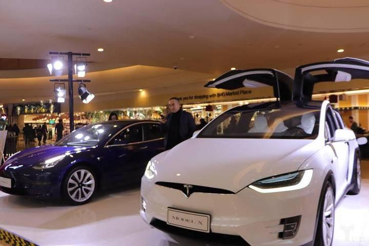 特斯拉纯电动车型/亿欧网