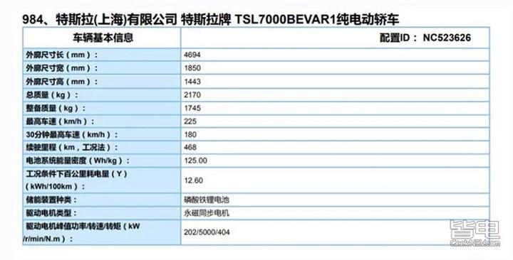 续航468km 特斯拉Model 3换装换装磷酸铁锂电池