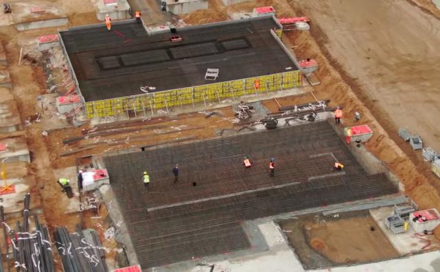 车圈 特斯拉柏林工厂被曝正在进行地基建设 其超级压铸机规模巨大