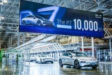 """160天产10000辆小鹏P7,自建工厂成新造车""""产能救星""""?"""