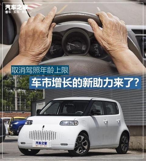 销量,政策,驾照年龄,老年购车