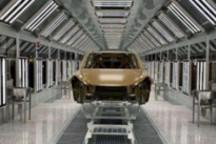 图片显示特斯拉上海超级工厂Model Y生产线已基本准备就绪