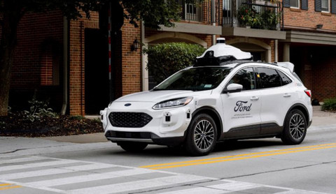 福特第四代自动驾驶平台降临,2022 年正式商用
