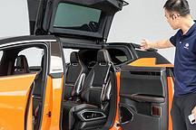比蔚來更貴的國產 SUV 開起來是什么感覺 場地試駕高合 HiPhi X 工程車
