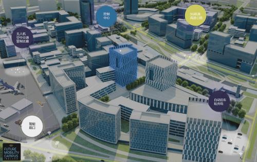 捷豹路虎将打造智慧城市中心