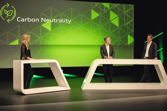 """奥迪""""碳中和""""进程小结 预计2050年实现"""