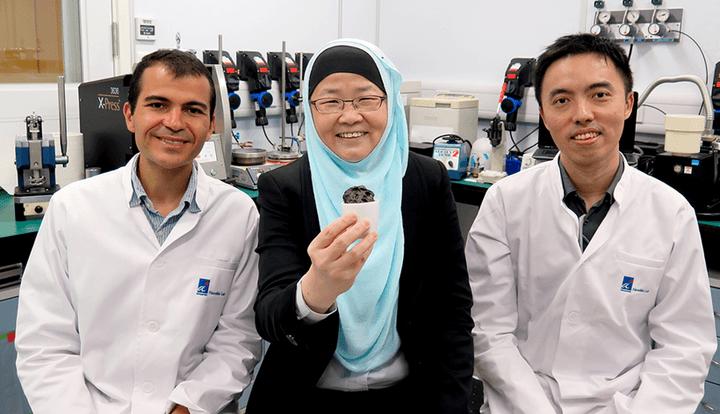 电池,半固态电解质,锂硫电池,电池安全性,新加坡A*STAR研究所纳米生物实验室,纸杯蛋糕法